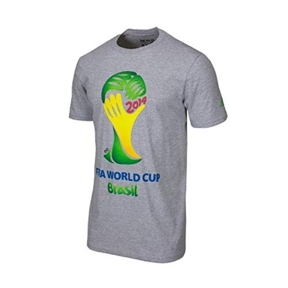 b805e980f772 adidas Shirts   Fifa World Cup Brasil Tee Size L   Poshmark